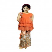 http://www.arapshop.com/Orange Indian Garara Dress