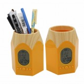 http://www.arapshop.com/Pen Holder With Digital Clock